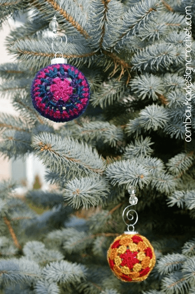 Glory! Cover Crochet Christmas Ornament Pattern by Oombawka