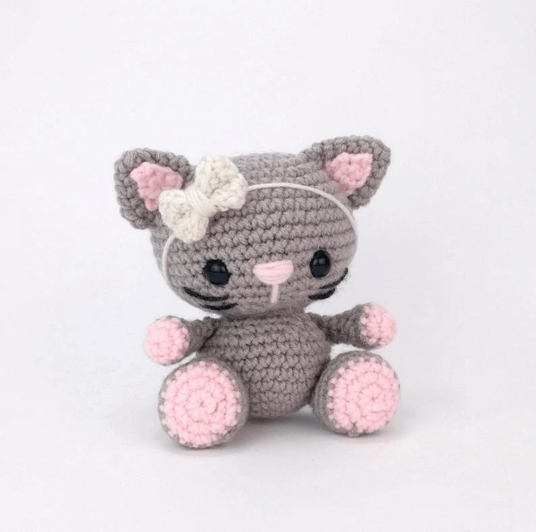 Amigurumi Crochet Crochet Kitten – Amigurumi – Little Cat – Part 1 ... | 595x600
