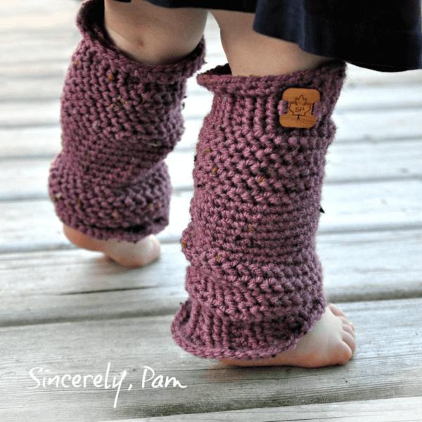 Michelle Crochet Leg Warmers Pattern by Sincerely Pam