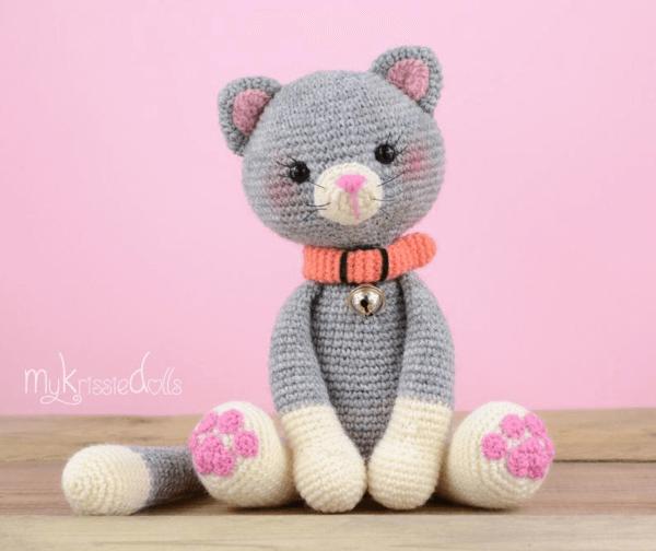 My Little Kitty Crochet Cat Pattern by MyKrissieDolls 1