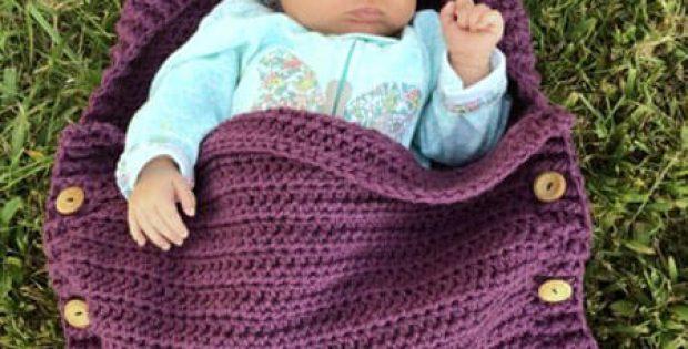 Newborn Sleep sack crochet baby pattern