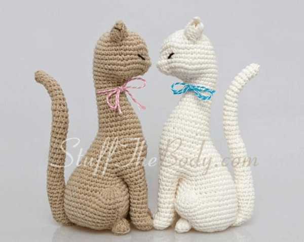 Princess Crochet Cat Pattern by StuffTheBody