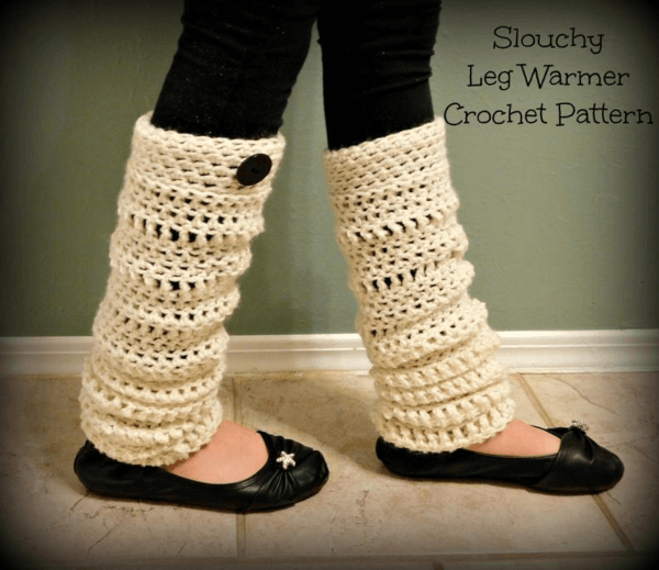 Quick Slouchy Leg Warmers Pattern by Sienna Sews