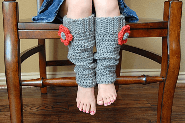 Scrunchy Crochet Leg Warmers Pattern by Adrienne Engar