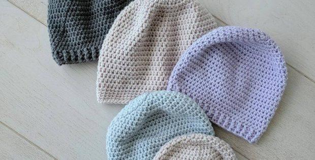 Simple Crochet Beanie Pattern