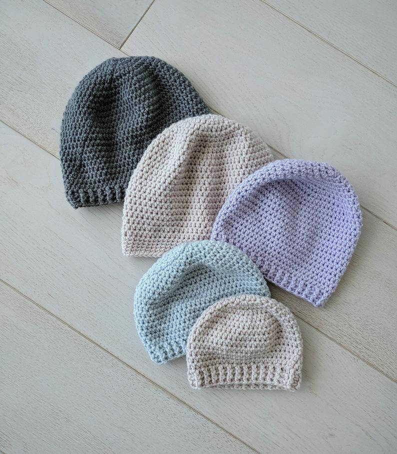 Simple Crochet Beanie Pattern Perfect As Gift Crochet News