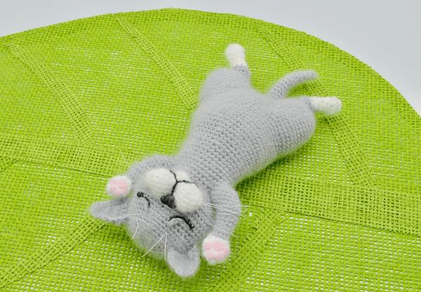 Crochet cat amigurumi plush free pattern – Free Amigurumi Patterns ... | 417x600