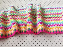 Snuggle Stitch Blanket Pattern