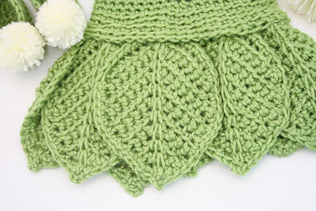 TinkerBell Crochet Baby Clothes Pattern Skirt Details