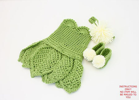 TinkerBell Crochet Baby Clothes Pattern