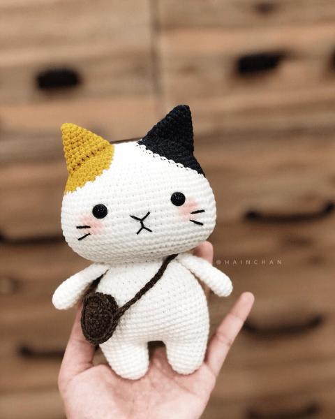 Tira the Little Crochet Cat Pattern by HainChan