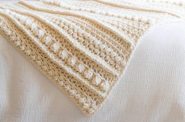 Wintertide Crochet Blanket Pattern Details
