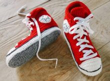 all star converse crochet shoes pattern