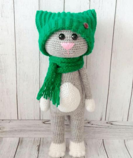 Crochet a Cat - Free Crochet Pattern - Yarnplaza.com | For ... | 540x455