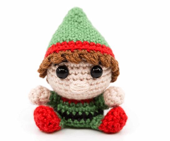Amigurumi Crochet Christmas Elf Pattern by Supergurumi