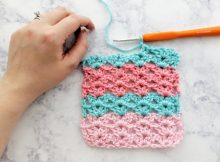 basic stitch iris crochet stitch