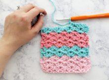 basic stitch iris crochet stitch