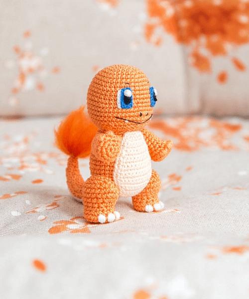 Charmander Amigurumi Crochet Pattern by Aradiya Toys