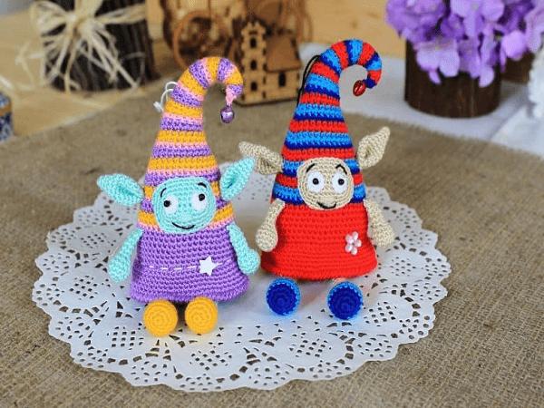 Crochet Elf Amigurumi Pattern by Amigurumi Today