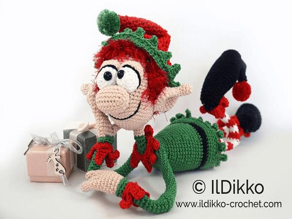 Amigurumi Elf Crochet Pattern by Il Dikko