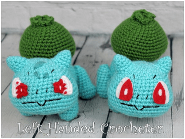 I crocheted the Bulbasaur family! : pokemon | 450x600