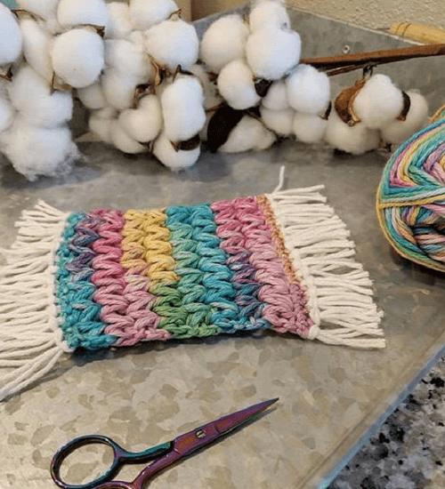 Crochet Coffee Coaster Pattern by LTK Cuties