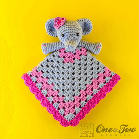 Crochet Elephant Lovey Pattern by Crochet News