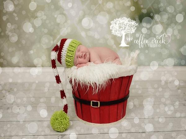 crochet elf hat longtail pattern 2