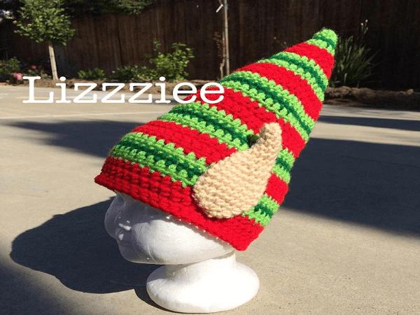 Elf Ears Crochet Hat Pattern by Lizzziee