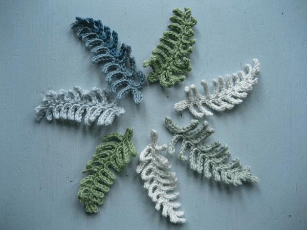 Crochet Fern Leaf Pattern by The Attic 24