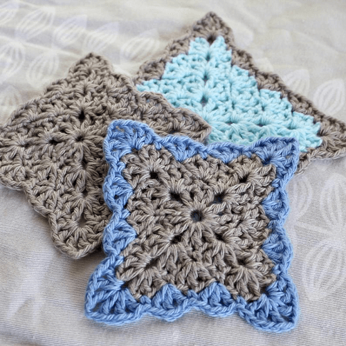 Crochet Lacy Shells Coaster Pattern by Vivid Kreations
