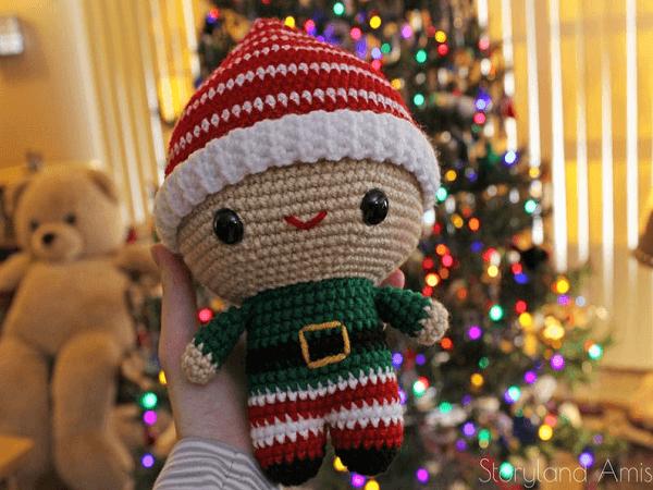 Amigurumi Crocheted Elf Pattern by Storyland Amis