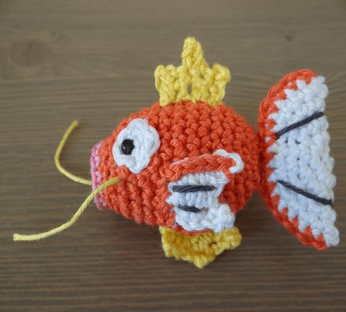 Crochet Magikarp Pattern by Crochetnanigans