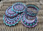 Crochet Mandala Coaster Pattern by Lilla Bjorn Crochet