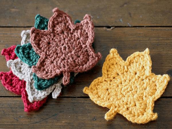 Crochet Leaf Pattern by Pretty Darn Adorable