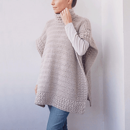 Crochet Star Dust Woman Poncho Pattern by By Accessorise