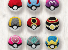 Crochet Pokemon Balls Pattern by LHC Patterns