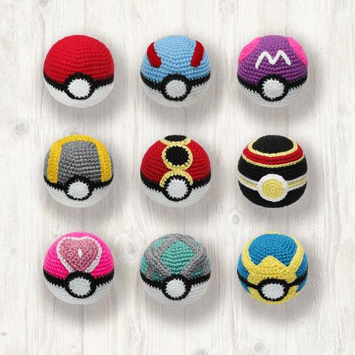 When I don't play, I crochet Pokemon. : pokemon | 500x500