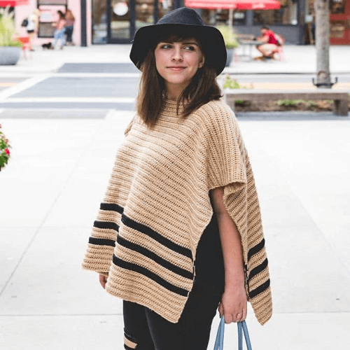 Crochet Rancher Poncho Pattern by Sewrella