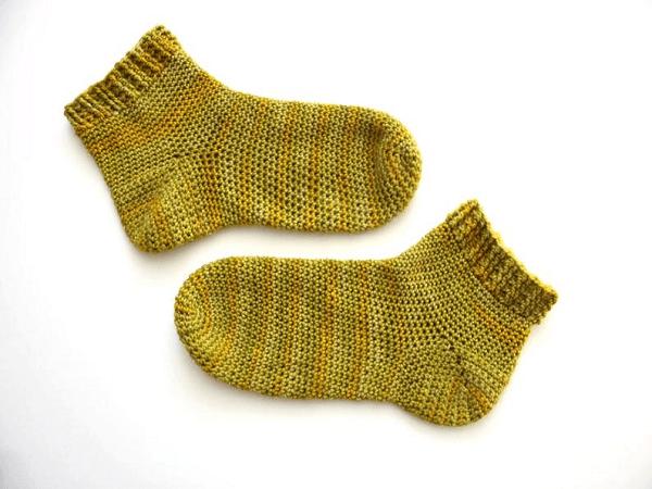 Crochet Socks Pattern by Harbour Crochet