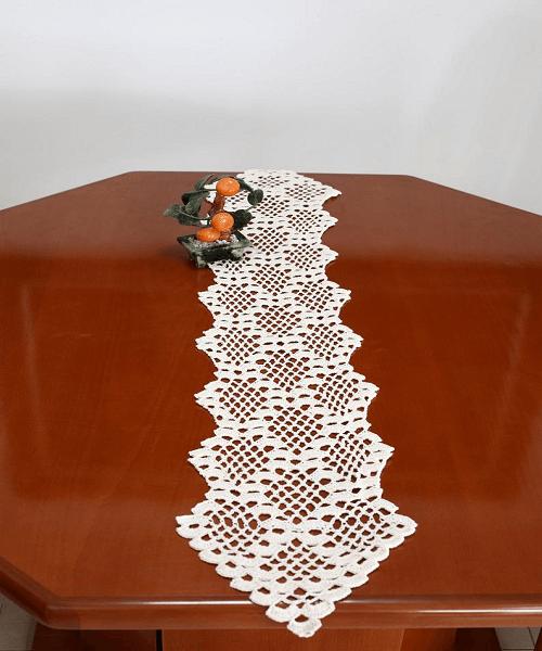 Crochet Table Runner Pattern by Etty 2504