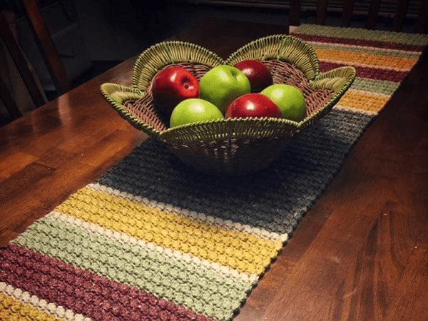 Plantation Crochet Table Runner Pattern by Knit On Designs