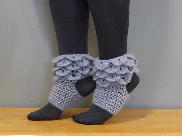 Crochet Yoga Socks Pattern by Jonna Martinez Crochet