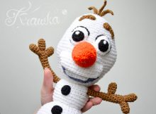 disney snowman toy crochet pattern