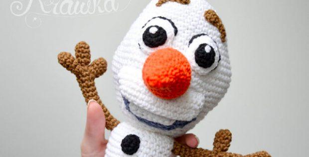 disney snowman toy crochet pattern