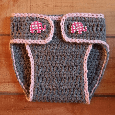 Easy Crochet Diaper Cover Pattern by Simple Crochet Ideas