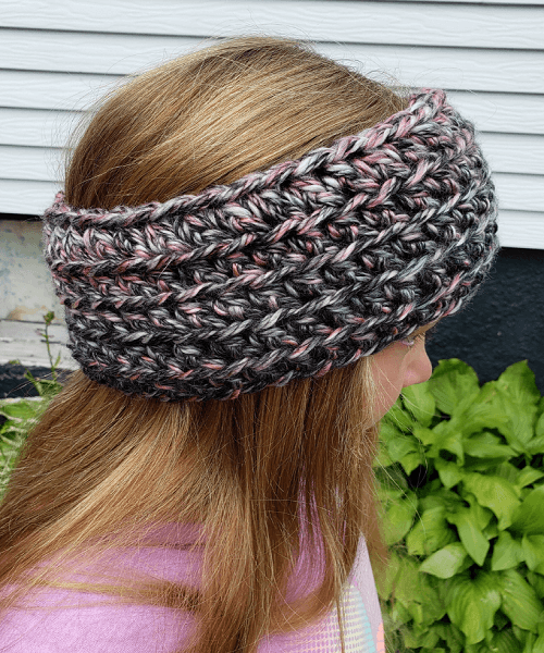 Easy Crochet Headband Pattern by Simply Country Crochet