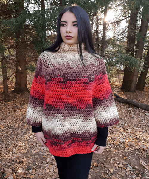 Kimora Poncho Crochet Pattern by Avarus Crochet Designs