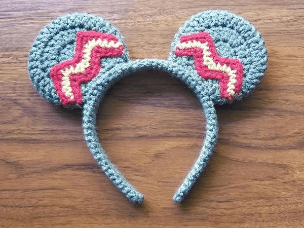 Mickey Mouse Ears Crochet Pattern by Crochet Labs