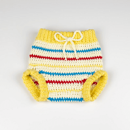 Baby Diaper Covers Crochet Pattern by Croby Patterns